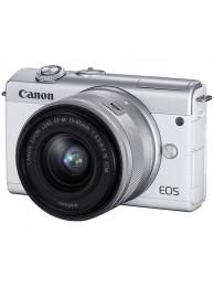Aparat Foto Mirrorless Canon EOS M200, Alb cu Obiectiv 15-45Smm F3.5-6.3
